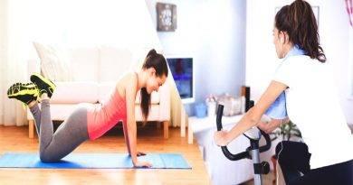 تعرف على تمرين في المنزل يساعدك على إنقاص الوزن